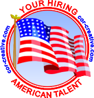 You are hiring American talent with Cor-creative